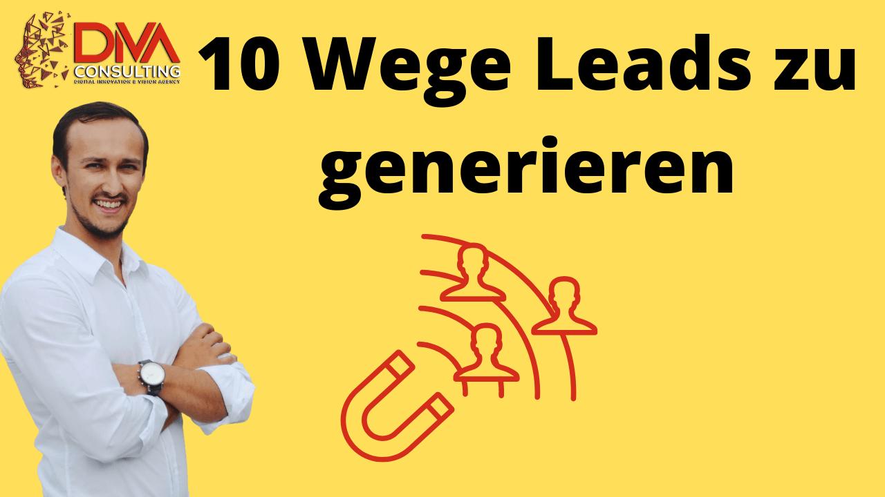 10 wege als coach leads generieren zu koennen website