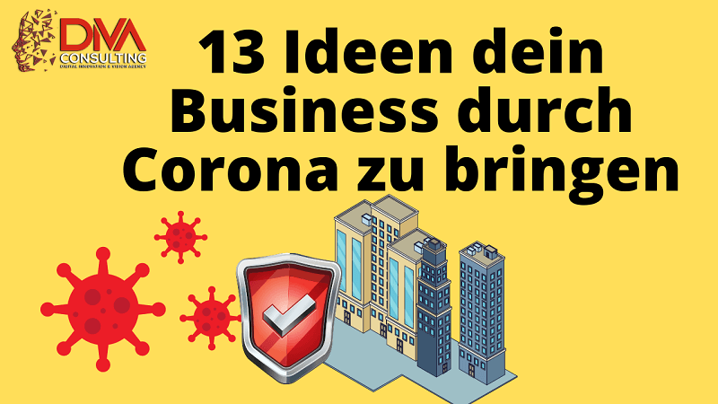 13 ideen dein business durch corona lockdown website