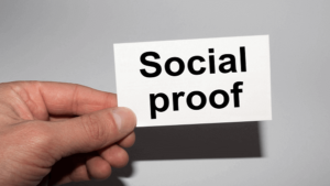Social Proof auf Webseite